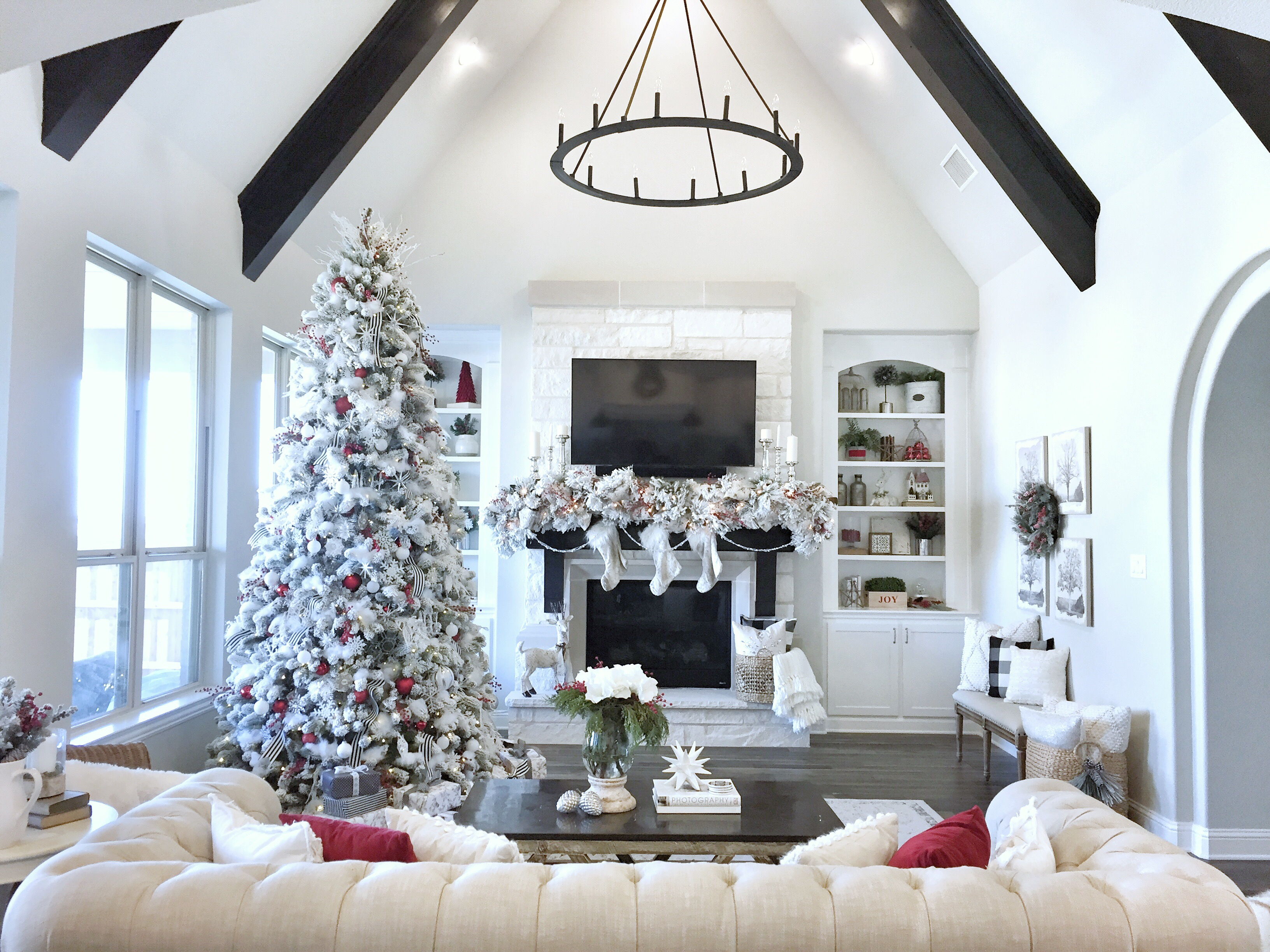 Christmas Home Decor.Christmas Home Tour My Texas House