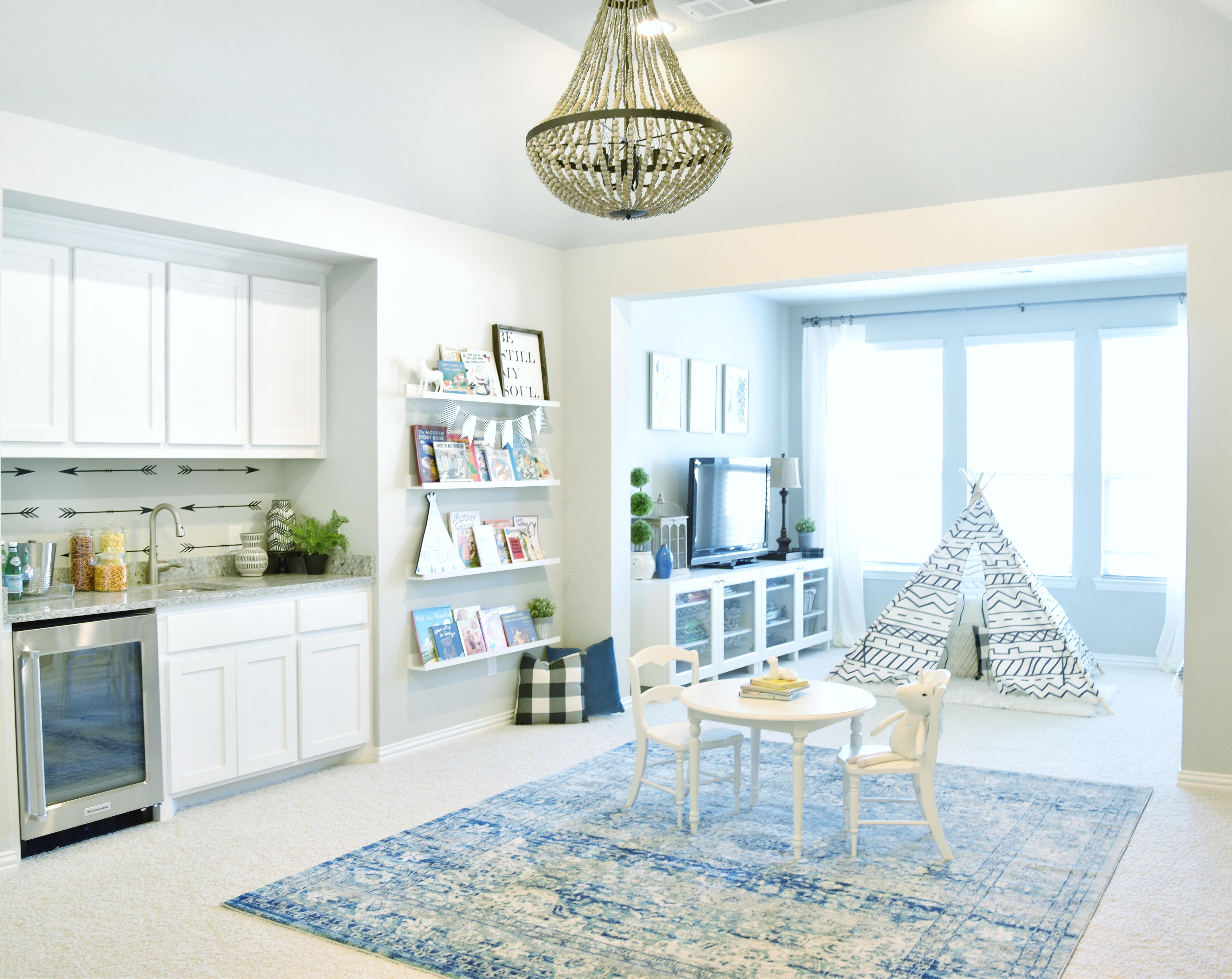 Playroom reveal my texas house for Hobby lobby ikea blvd