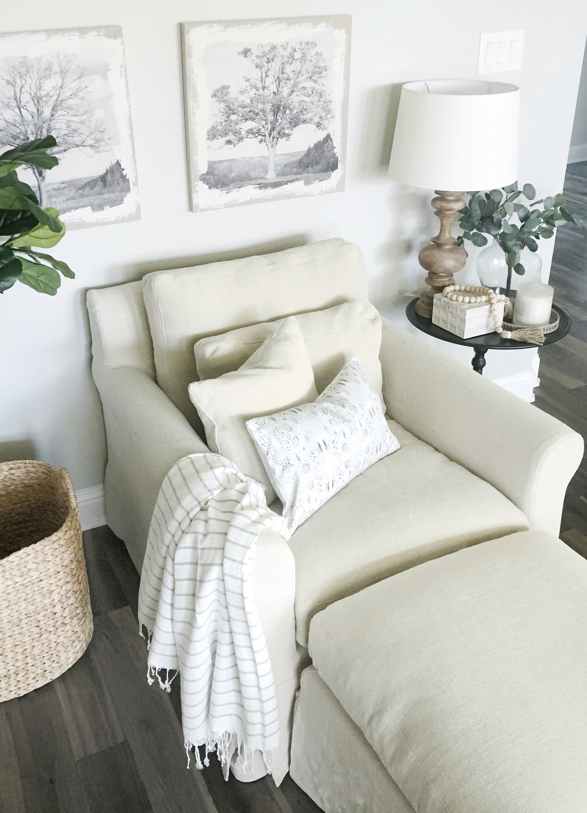 Updates to my living room with Sixpenny.com - My Texas House
